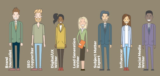 freelance writer types